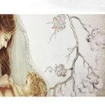 maternità quadro moderno arredare articolo da regalo matrimonio capezzale moderno capoletto camera da letto dipinto shabby chic arredare