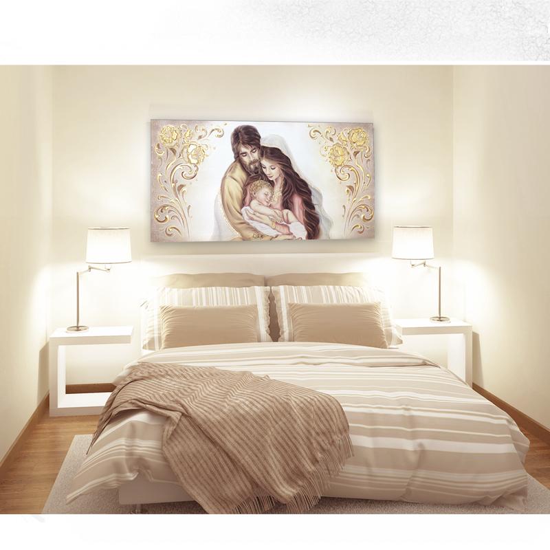 Basic21 1 sacra famiglia quadro moderno arredare articolo for Quadri da camera da letto